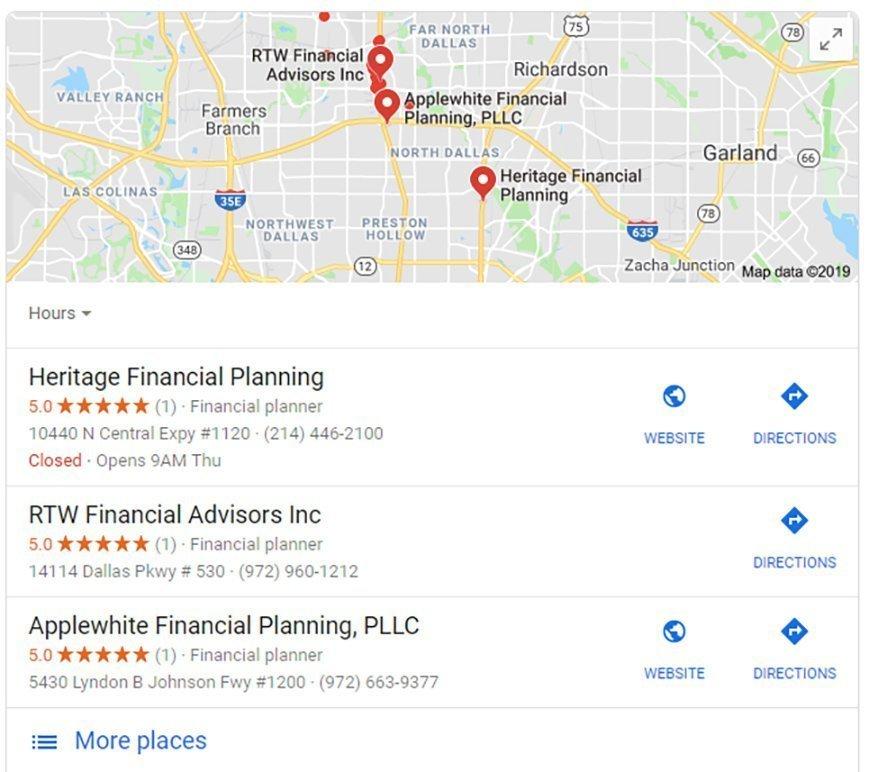 Google Location Ad