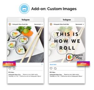 social-post custom image design service