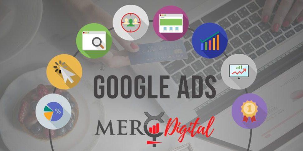 MercDigital Google Ads Campaign