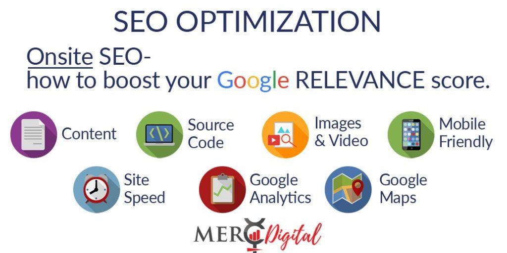 MercDigital SEO Audit and Optimization